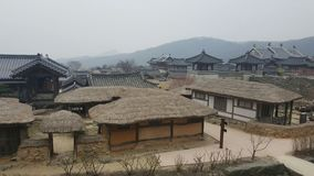Village. For the filming of Korea Stock Images