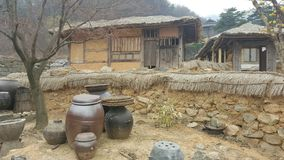 Village. For the filming of Korea Stock Image