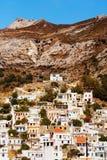 Village of Filoti in Naxos Island. Greece. Royalty Free Stock Photo