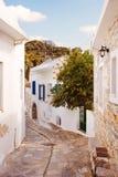 Village of Filoti,  Naxos Island, Greece. Stock Photo