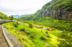 Village in Flam. Norway Royalty Free Stock Photo
