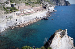 Village fo Manarola, Italy Stock Photo