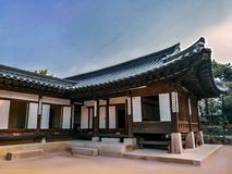Village folklorique coréen, Séoul, Corée du Sud photographie stock