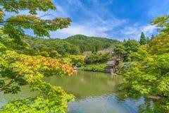 Village folklorique de Hida chez Takayama Photographie stock libre de droits