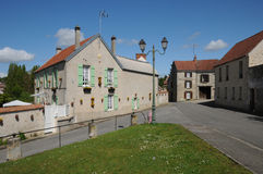 The village of Fontenay Saint Père Royalty Free Stock Photo