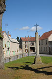 The village of Fontenay Saint Père Royalty Free Stock Photos