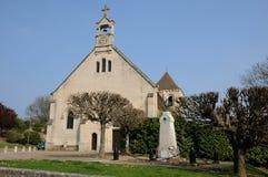 The village of Fontenay Saint Père Stock Photography