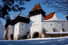 Village fortress from Viscri, Romani Royalty Free Stock Photo
