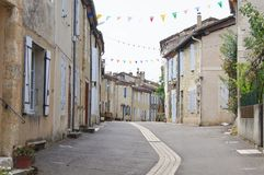 Village français Image stock
