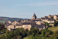 Village in France royalty free stock image
