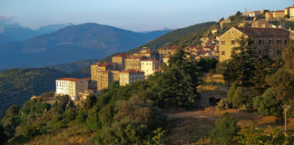 Village in France. Village in the south of France Stock Photo