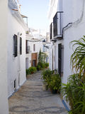 Village of Frigiliana Spain Stock Photo