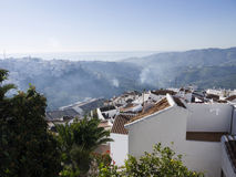 Village of Frigiliana Spain Royalty Free Stock Photos