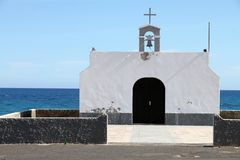 Village Fuerteventura de lajas de Puerto Photo stock