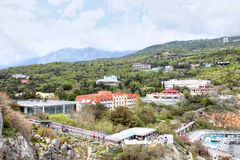 The village of Gaspra Stock Photos