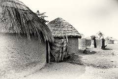 A village in Ghana Stock Images