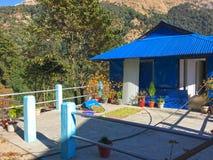 Village Ghorepani near Poon Hill. Nepal royalty free stock photography