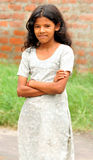 Village girl Royalty Free Stock Image
