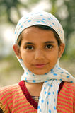 Village girl Stock Images