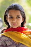 Village girl Royalty Free Stock Photography