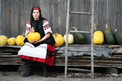 Village girl Stock Photos