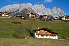 The village of Going in Tyrol, Austria Stock Photo