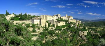 Village of Gordes. The famous village of Gordes in Provence Stock Photography