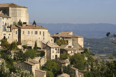 The village of Gordes. In the Luberon District of Provence, France is one the most beautiful villages in France Stock Images