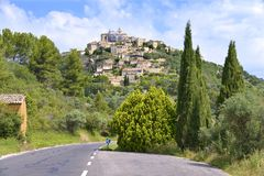 Village of Gordes in France Stock Photography