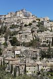 The village of Gordes. In Luberon Natural and Regional Park Stock Photo
