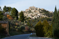 Village of Gordes in Provence Royalty Free Stock Photography