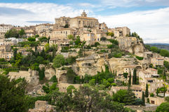 Village of Gordes in the Provence Royalty Free Stock Photography