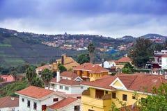 Village in Gran Canaria. Mountain Village in Gran Canaria stock image