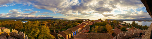 Village of Granadilla. In Caceres, Extremadura, Spain Stock Photo