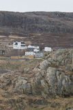 The village of Grates Cove at the northern tip Avalon Peninsula, Royalty Free Stock Photos