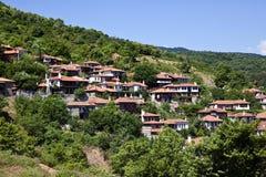Village grec traditionnel Photo libre de droits