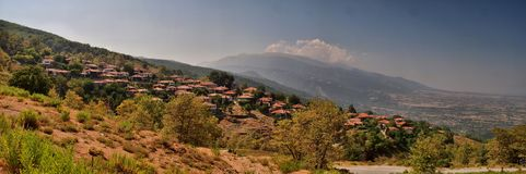 Village in Greece Stock Image