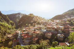 Village in Greece Royalty Free Stock Photography