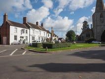 Village Green in Tanworth in Arden lizenzfreies stockbild