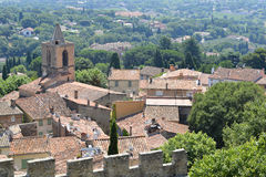 Village of Grimaud in France Stock Photos
