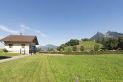 Village of Gruyères, Switzerland royalty free stock photos