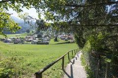 Village of Gruyères, Switzerland Stock Images