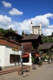Village of Gstaad Royalty Free Stock Photography