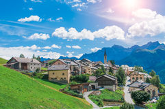 Village of Guarda Stock Images