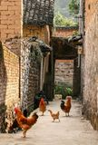 The village in guilin, china Stock Photo