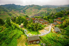 Village in Guilin Stock Photo