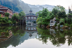 The village of the Guizhou Stock Photo