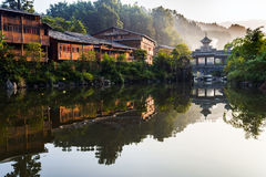 The village of the Guizhou Royalty Free Stock Photography
