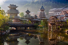The village of the Guizhou Royalty Free Stock Image