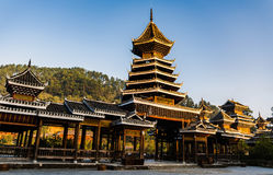The village of the Guizhou Royalty Free Stock Photos